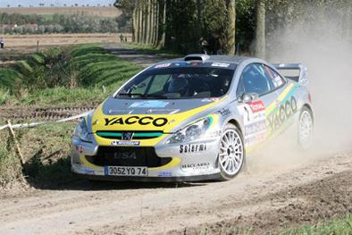 Rallye du Touquet: Victoire de Cuoq, Robert toujours leader