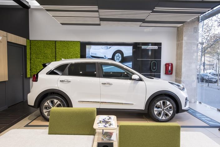 Kia inaugure une concession dédiée aux véhicules électriques