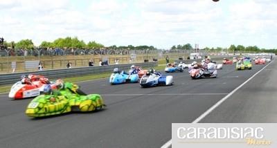 Championnat de France Side-car au Vigeant (86) : les essais qualificatifs.