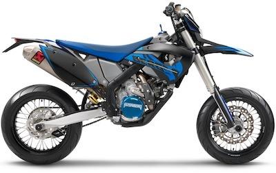Husaberg: FS 570, supermotard façon Black Edition... soit 1860 euros d'économie.