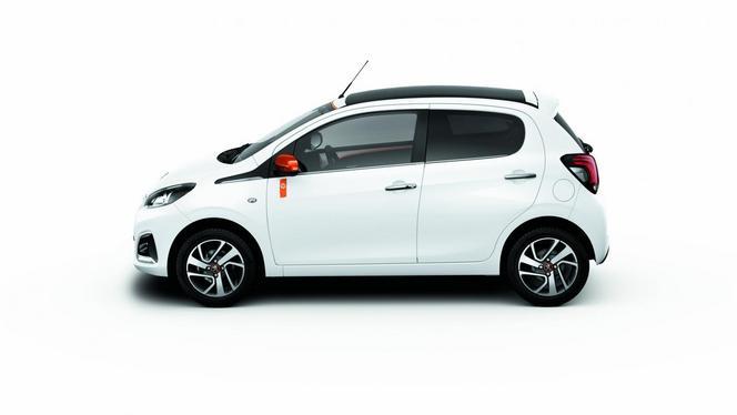 La Peugeot 108 Roland Garros débarque au Royaume-Uni