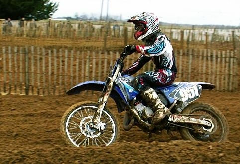 Motocross, 125 junior en Bretagne, Arnaud Aubin devant