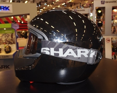 En direct du Salon de la Moto 2013: Shark
