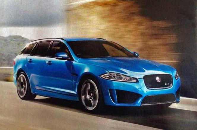 Genève 2014 - La Jaguar XFR-S Sportbrake en avance