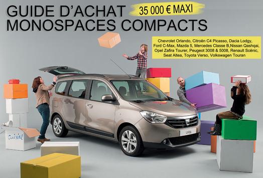 Guide d'achat : monospaces compacts à moins de 35 000 €