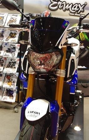 En direct du Salon de la Moto 2013: Ermax