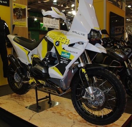 En direct du Salon de la Moto 2013: Touratech