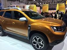 Dacia Duster 2 : les premières images en live - Salon de Francfort 2017