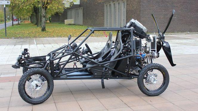 p gase la voiture volante made in france. Black Bedroom Furniture Sets. Home Design Ideas