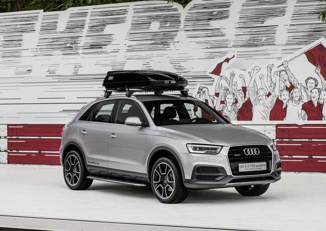 Wörthersee 2015 : l'Audi Q3 revêt un look d'aventurier