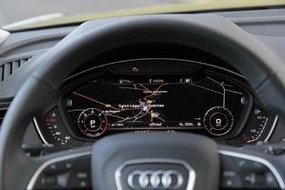 Le Q5 peut bénéficier du cockpit numérique.