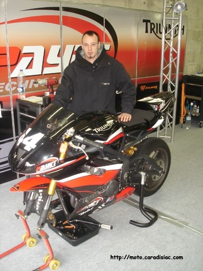 Interview : David Marsac, officiel Triumph pour 2008