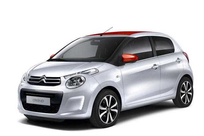 Toutes les nouveautés du salon de Genève 2014 : la Citroën C1 fait les gros yeux