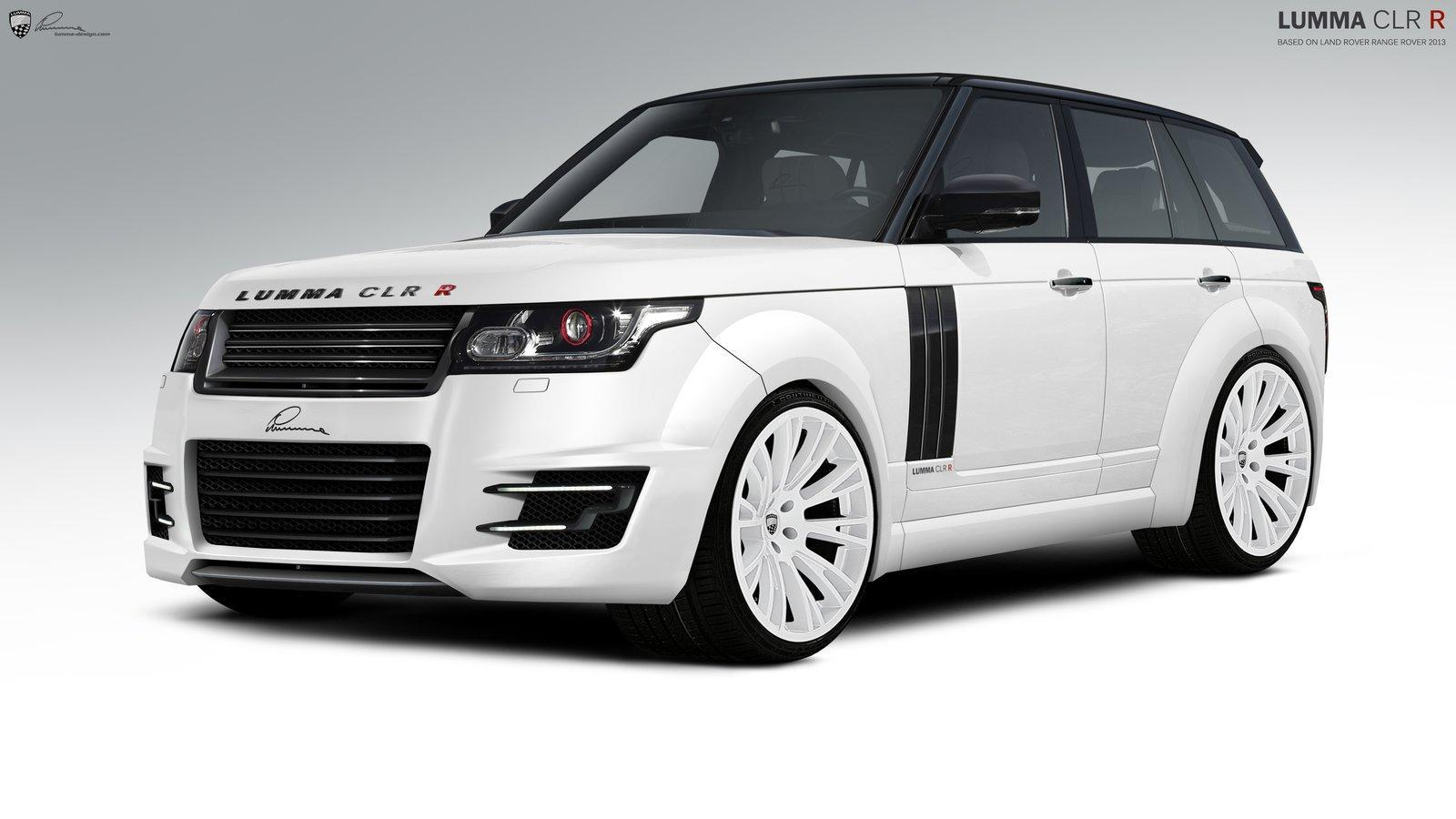 lumma design boursoufle le nouveau range rover. Black Bedroom Furniture Sets. Home Design Ideas