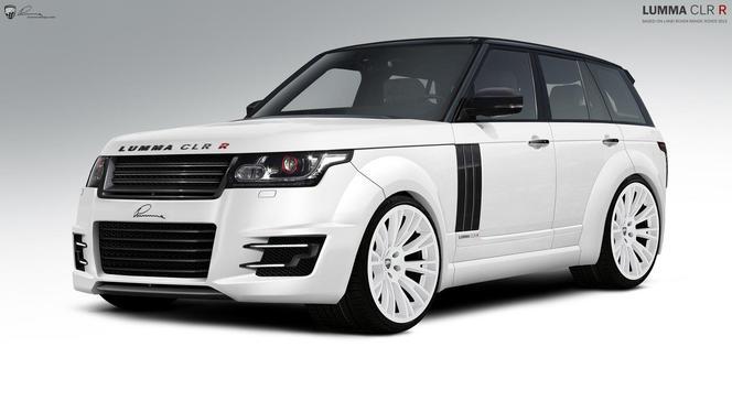Lumma Design boursoufle le nouveau Range Rover