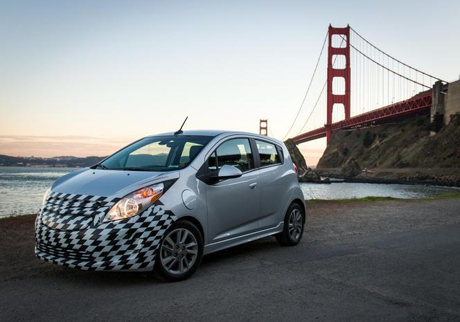 Los Angeles 2012 : la Chevrolet Spark EV et ses 542 Nm de couple !