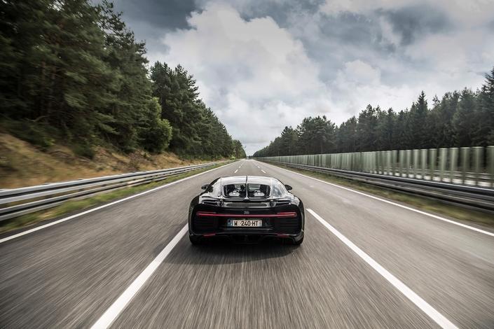 Bugatti Chiron : 0 à 400 km/h puis à 0 en moins de 42 secondes