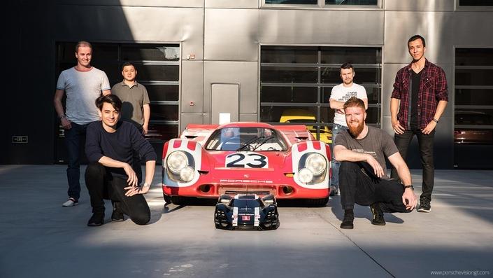 """Ils font revivre la Porsche 908 """"long tail"""""""
