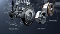 Cependant, le générateur, MG1, peut ici se transformer en second moteur électrique.
