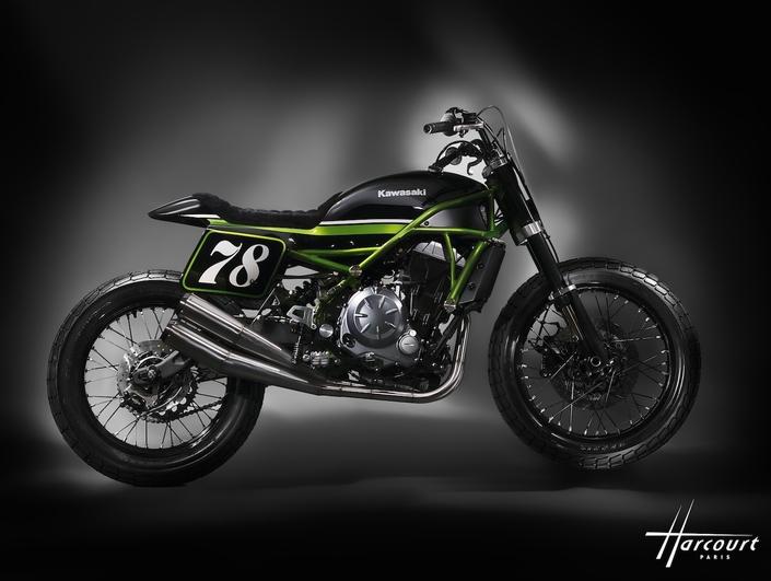 Kawasaki : une Z650 version Flate Track MRS