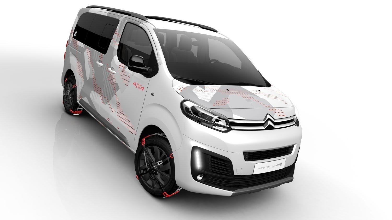Citroën SpaceTourer 4x4 Ë : le ludospace à quatre roues motries