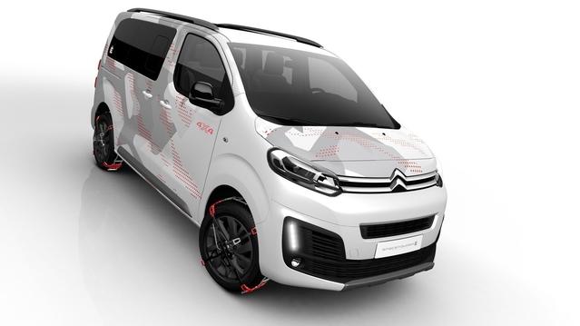 Salon de Genève 2017 - Citroën SpaceTourer 4x4 Ë: concept publicitaire