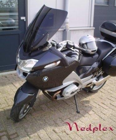 Bulles haut de gamme pour la BMW R 1200RT 2010 signées Nedplex.