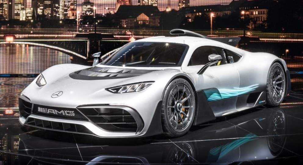 Photos : voici la Mercedes-AMG Project One