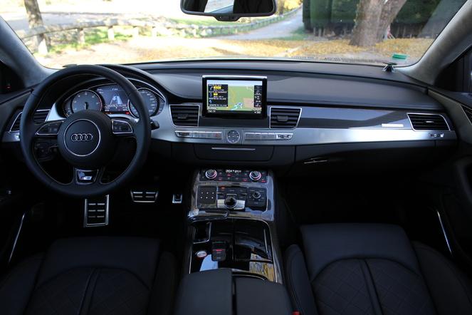 Essai vidéo - Audi S8 : bureau de chasse