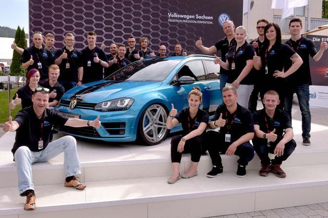 Wörthersee 2015 : Volkswagen Golf Variant (SW) Biturbo Edition, le break des apprentis