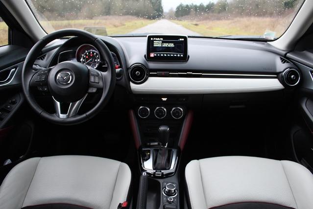 Essai - Mazda CX-3 SkyActiv-G 120 : le select