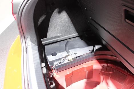 Je n'aime pas la diminution du volume du coffre lorsque l'on choisit l'option sono Beats. C'est dommage (-30 l).