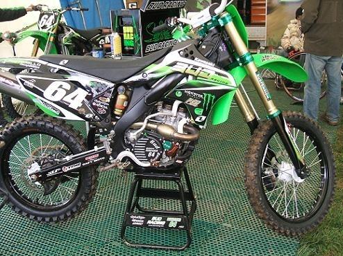 La moto de Vongsana chez Bud Racing