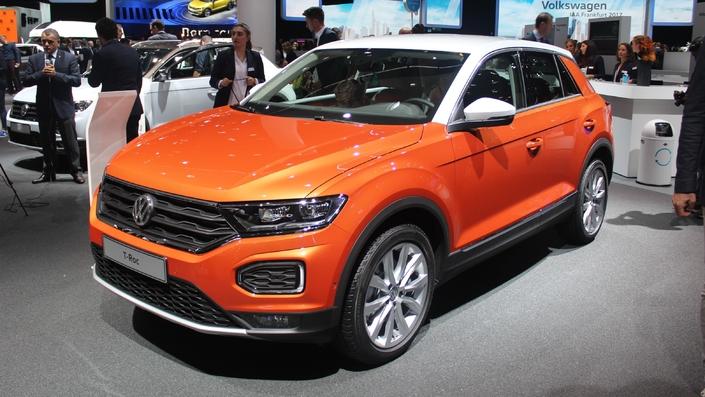 Volkswagen T-Roc : entre deux chaises - Vidéo en direct du salon de Francfort 2017