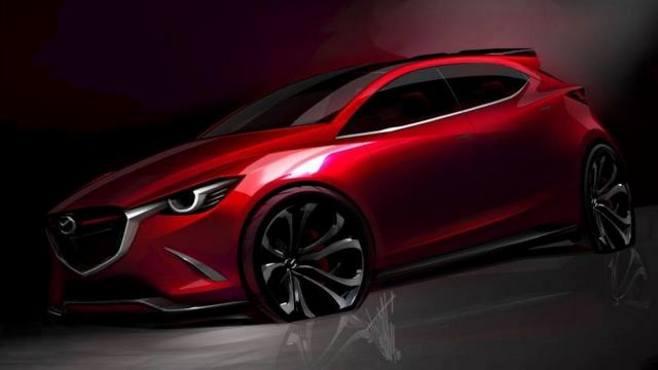 Genève 2014 : Mazda Hazumi en entier