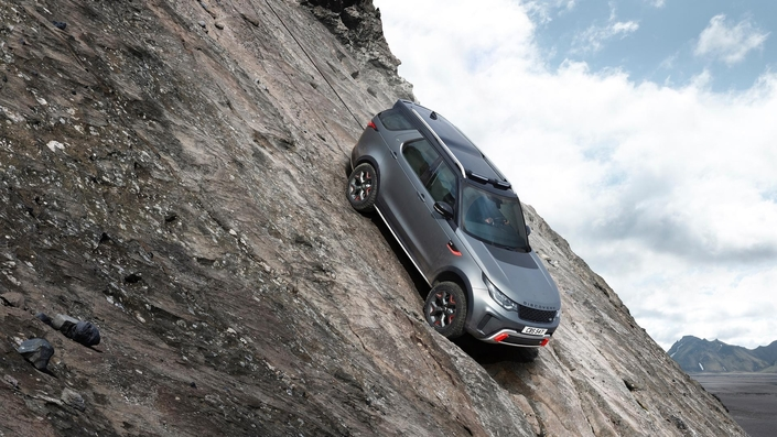 Salon de Francfort 2017 : Land Rover dévoile le Discovery SVX