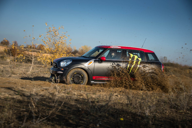 La Mini Countryman adopte le style ALL4 Racing