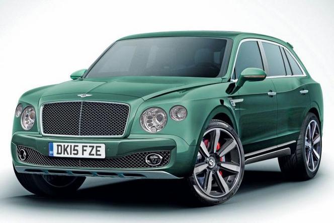 Le SUV Bentley modifié ne sortira pas avant 2016