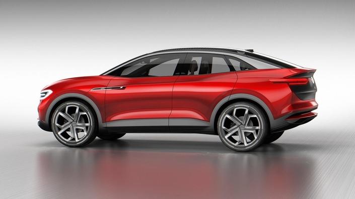 Salon de Francfort 2017 : Volkswagen dévoile le concept I.D Crozz
