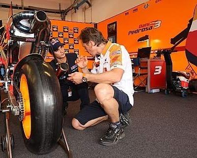 Moto GP - San Marin D.1: Pedrosa victime de son radiateur
