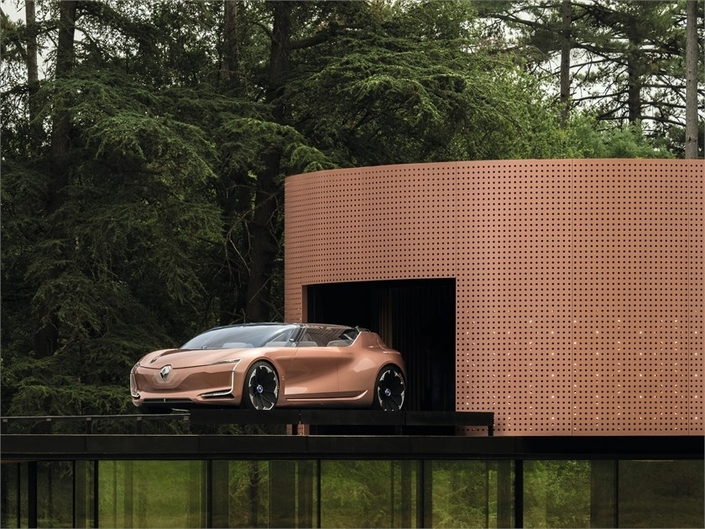 Salon de Francfort 2017 : Renault dévoile le concept Symbioz