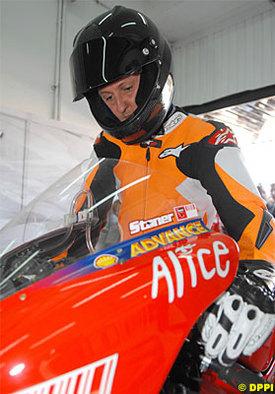 """Insolite: """"Schumi"""" bientôt en Moto GP ?"""