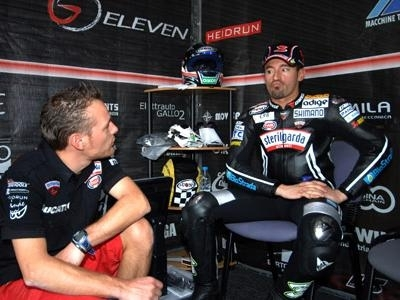 Superbike - Valence: Biaggi se prépare à souffrir