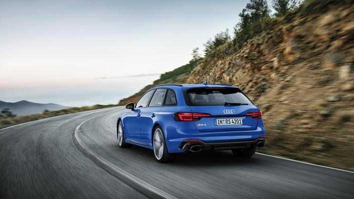 Salon de Francfort 2017 : Audi dévoile la RS4