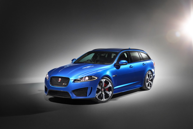 Toutes les nouveautés de Genève 2014 : Jaguar XFR-S Sportbrake, le chat d'assaut