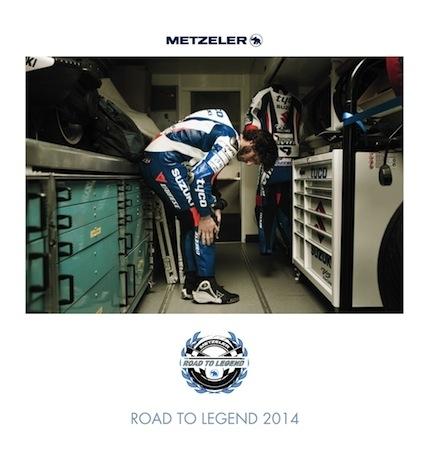 Calendrier Metzeler 2014... façon Road Racing