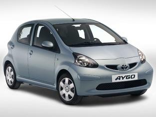 L'original: Toyota Aygo.