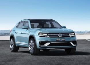 L'original: Volkswagen Cross Coupé GTE.