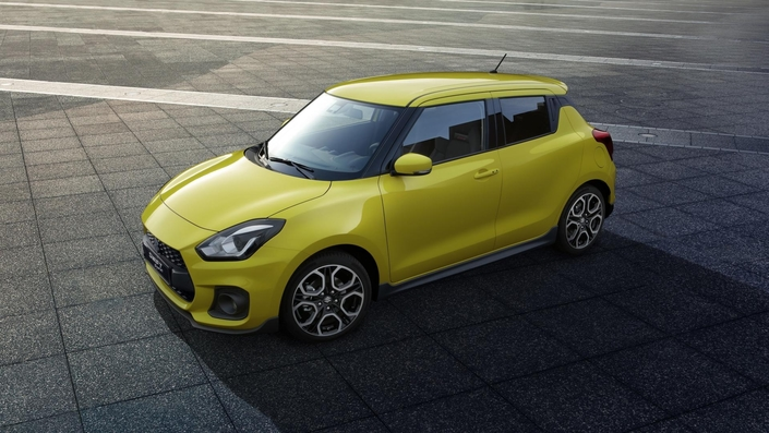 Salon de Francfort 2017 : Suzuki dévoile la Swift Sport