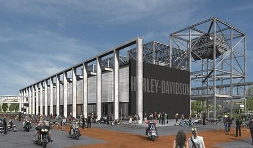 Harley Davidson entre au musée